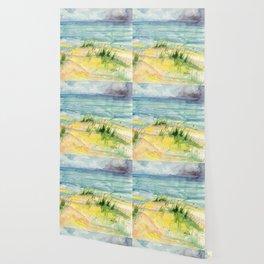 Stormy Beach Wallpaper