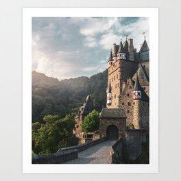 Sunrise At Castle Eltz, Germany Art Print