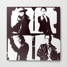 Justified Four Metal Print