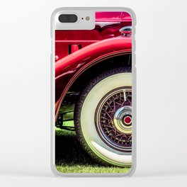 The Thirties Clear iPhone Case