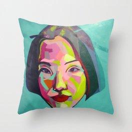 En Cuba todo el mundo ama a Mao Throw Pillow