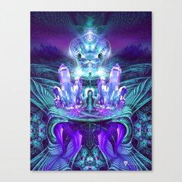 Expanding horizons - Visionary - Fractal - Manafold Art Canvas Print