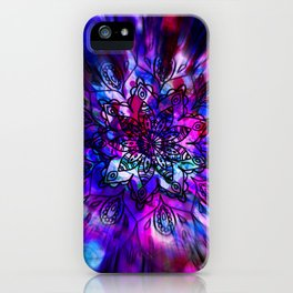 artistic mandala b iPhone Case