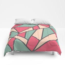Geometric Colour Pattern V6 Comforters