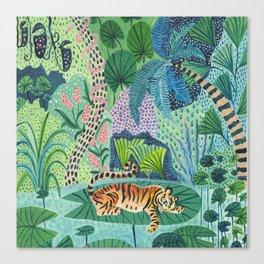 Jungle Tiger Canvas Print