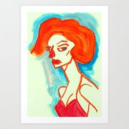 drawing_050720 Art Print
