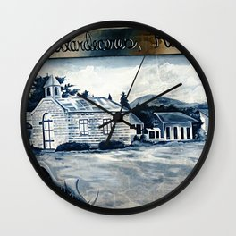 History on the wall 2 @ Rincon Wall Clock