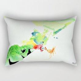 Chicken Thought Rectangular Pillow