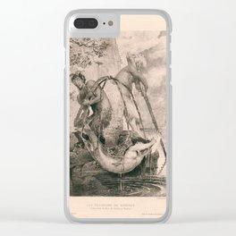 Les Pecheurs De Sirenes Clear iPhone Case