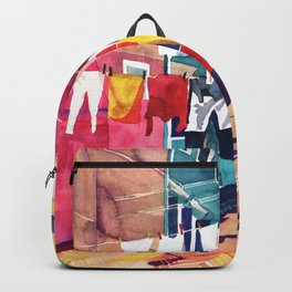 Laundry in Venice Backpack