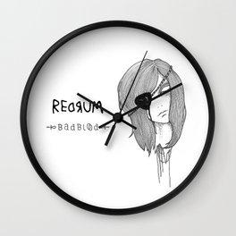 Redrum 02 Kelsey Wall Clock