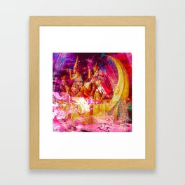""" Of two things the moon the other one, it is the sun. "" Framed Art Print"