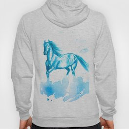 Horse Abstract Hoody