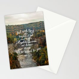Seek First Stationery Cards