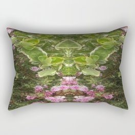 The Grasshopper Princess Rectangular Pillow