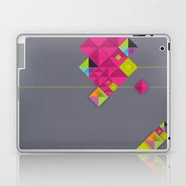 Optical illusion_grey Laptop & iPad Skin