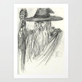 Odin All-Father Art Print