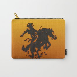Cowboy Bronco Riding Carry-All Pouch
