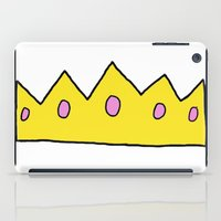 crown iPad Cases featuring Crown by elysiancreations