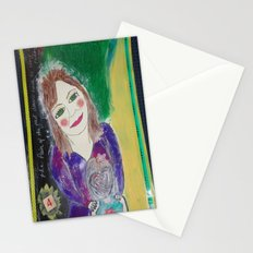 Self Love Portrait for Inner Peace  Stationery Cards