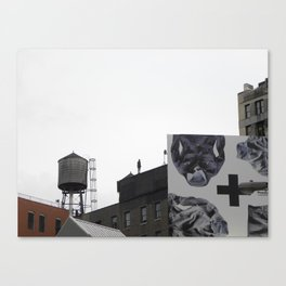 Gormley on Broadway, New York Canvas Print