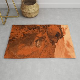 Mars landscape Rug