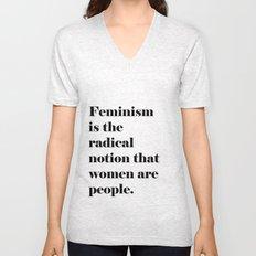 Feminism  Unisex V-Neck