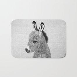 Donkey - Black & White Bath Mat