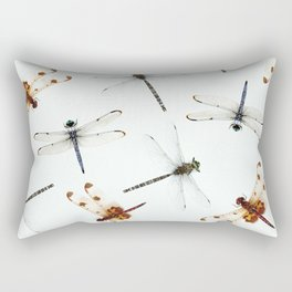 Dragonfly Pattern Rectangular Pillow