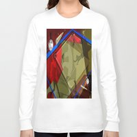 baseball Long Sleeve T-shirts featuring Baseball by Robin Curtiss