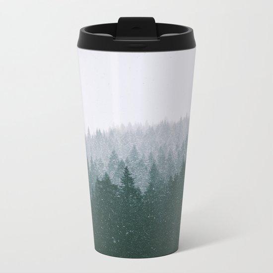Winter VII Metal Travel Mug