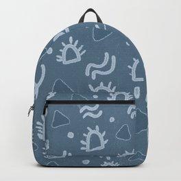 marfa, indigo shibori Backpack
