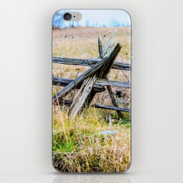 Split Rail iPhone Skin