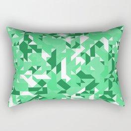 Off-Beat Geometric Shapes V.07 Rectangular Pillow