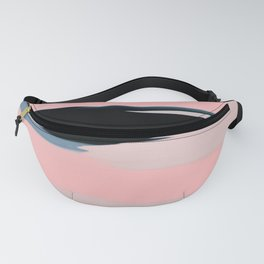 Soft Determination Peach Fanny Pack