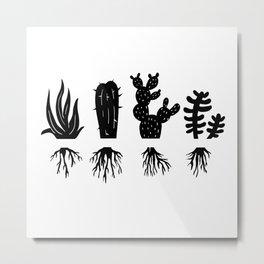 PLANT LOVERS Metal Print
