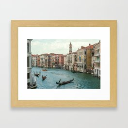 The Grand Canal of Venice Framed Art Print