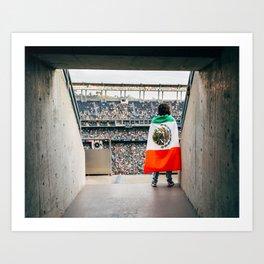 Mexican soccer Art Print