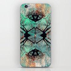 autumn tree-vessel pattern iPhone & iPod Skin