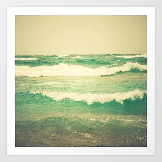 Sea Glass Art Print