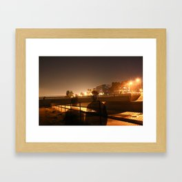 The Witches Come Out At 3:15 Framed Art Print