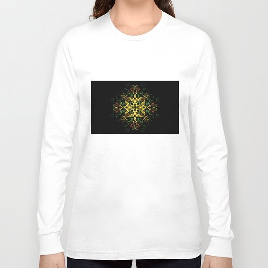 The Evening Star Merry Christmas and Happy New Year !! Long Sleeve T-shirt