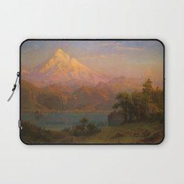 Albert Bierstadt - Mt Hood 1869 Laptop Sleeve
