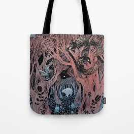 Midnight Grove Tote Bag