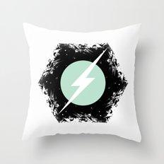 BOLT THROUGH PORTAL. Throw Pillow