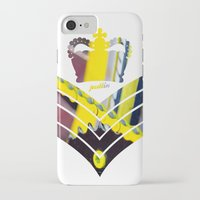 general iPhone & iPod Cases featuring Fixie General by Pedlin