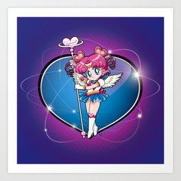 Sailor Chibi Chibi - Sailor Moon Sailor Stars vers. Art Print