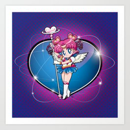 Sailor Chibi Chibi - Sailor Moon Sailor Stars vers. Art Print