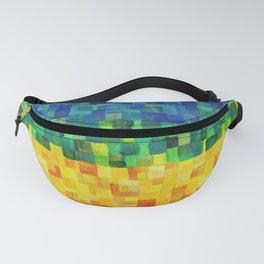 Chakra Rainbow Tiles Fanny Pack