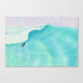 SURF GUITAR no. 2   WATER COLOR Canvas Print